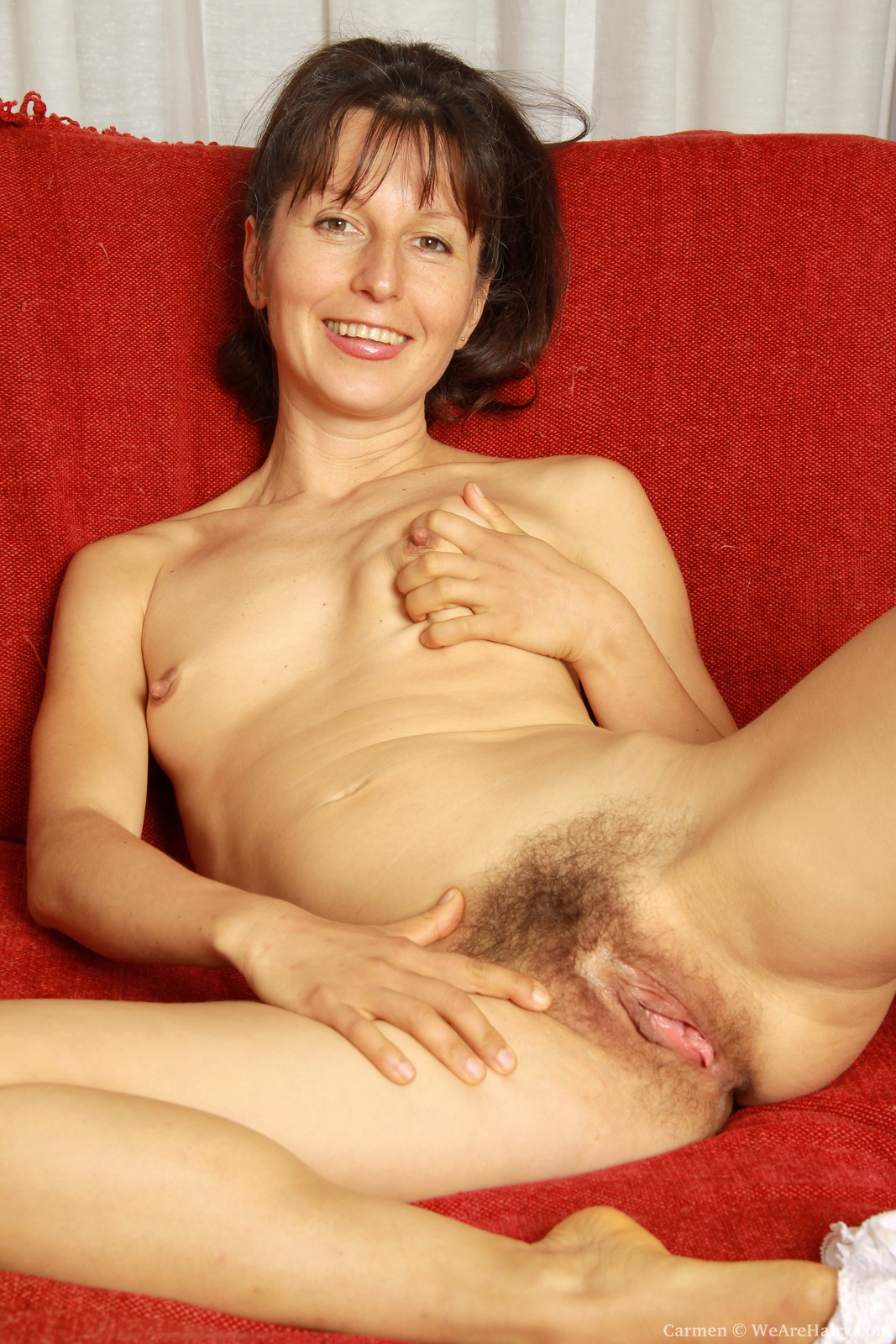 Carmen hairy mature sex retro fuck picture